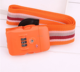 Wholesale custom tsa lock luggage belt with weight scale