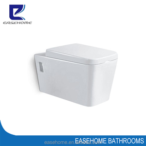 western style wall hung toilet