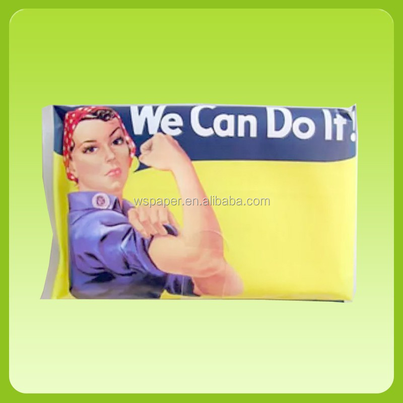 Promotional advertising small custom wallet tissue pack bulk sale