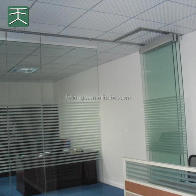 Interiror Design Schalldichte Trennwand Faltbare Glas Trennwand