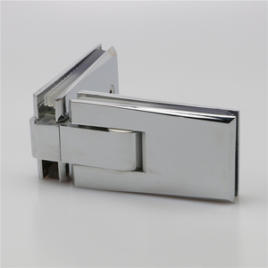 bathroom adjustable open 90 degree self closing return spring small CE brass shower door hinge for heavy doors