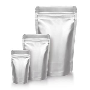 Wholesale zipper stand up zip lock aluminum foil bag