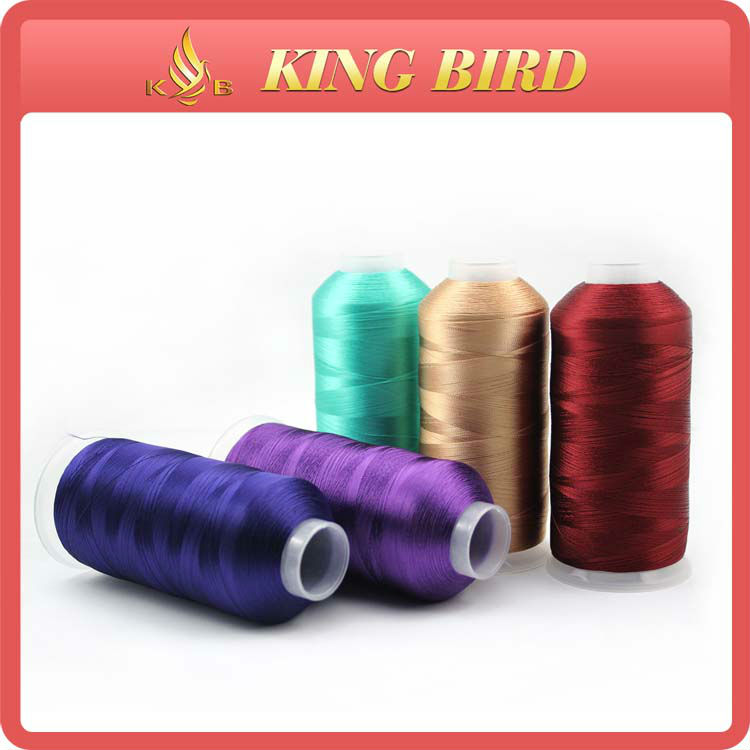 100% filament 120d 2 viscose rayon embroidery thread
