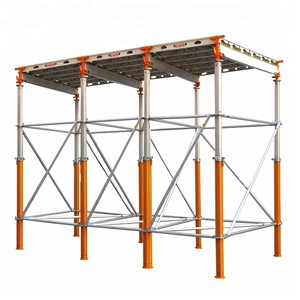 Aluminium Panel Slab Formwork System table with Aluminium Scaffolding Extension Shoring Standard Props