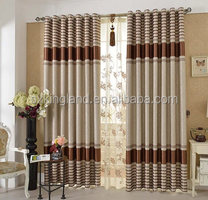 Strip embossed blackout curtain plastic pearl bead curtain