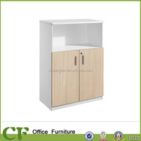 CF standard size furniture office file cabinets modern design 25mm top and layer plate