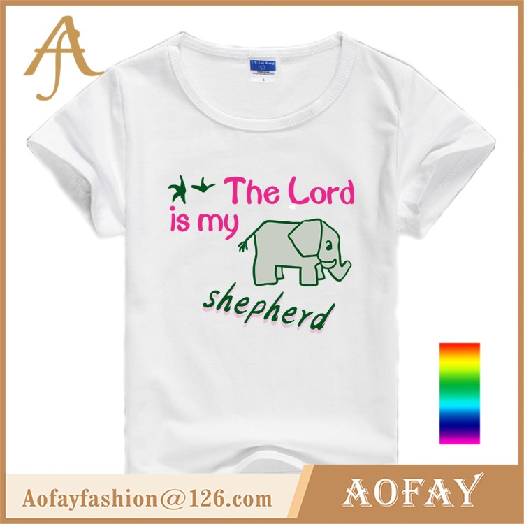 Alibaba China Wholesale Yellow Printing Baby Girl T-shirt