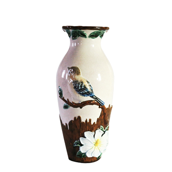 Low Price Antique Style Flower And Bird Chinese Ceramic Vase Buy