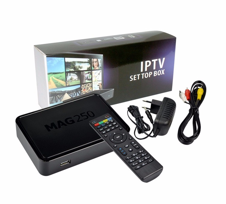 Warm welcome Linux iptv set top box Processor -STi7105 Linux 2.6.23 mag250