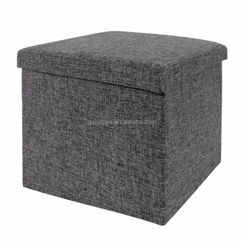 Amazing Silvery Cubes Non Woven Folding Storage Ottoman Bench Foot Rest Seat Stool Buy Decorative Foot Stool Cube Storage Ottoman Storage Ottoman Product On Gmtry Best Dining Table And Chair Ideas Images Gmtryco