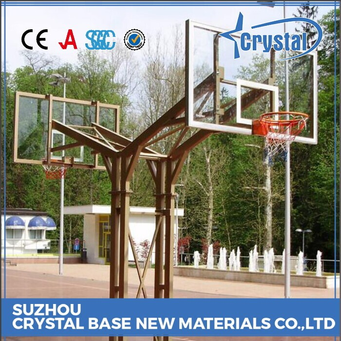 Tempered Glass Basketball Backboard Tempered Glass Material