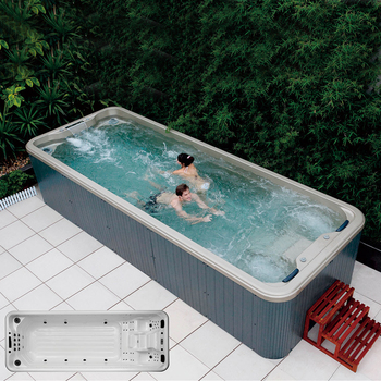 Hs-s06b Endless Pool Spa/ Swimming Pool Hot Tub Combo - Buy ...