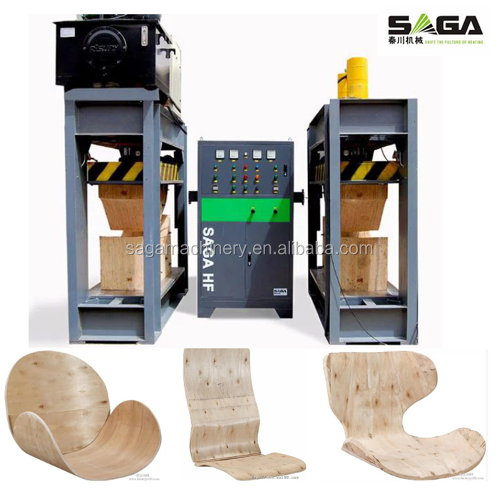 YX80-SA HF Wood Bend Hot Press Machine For Making Chair