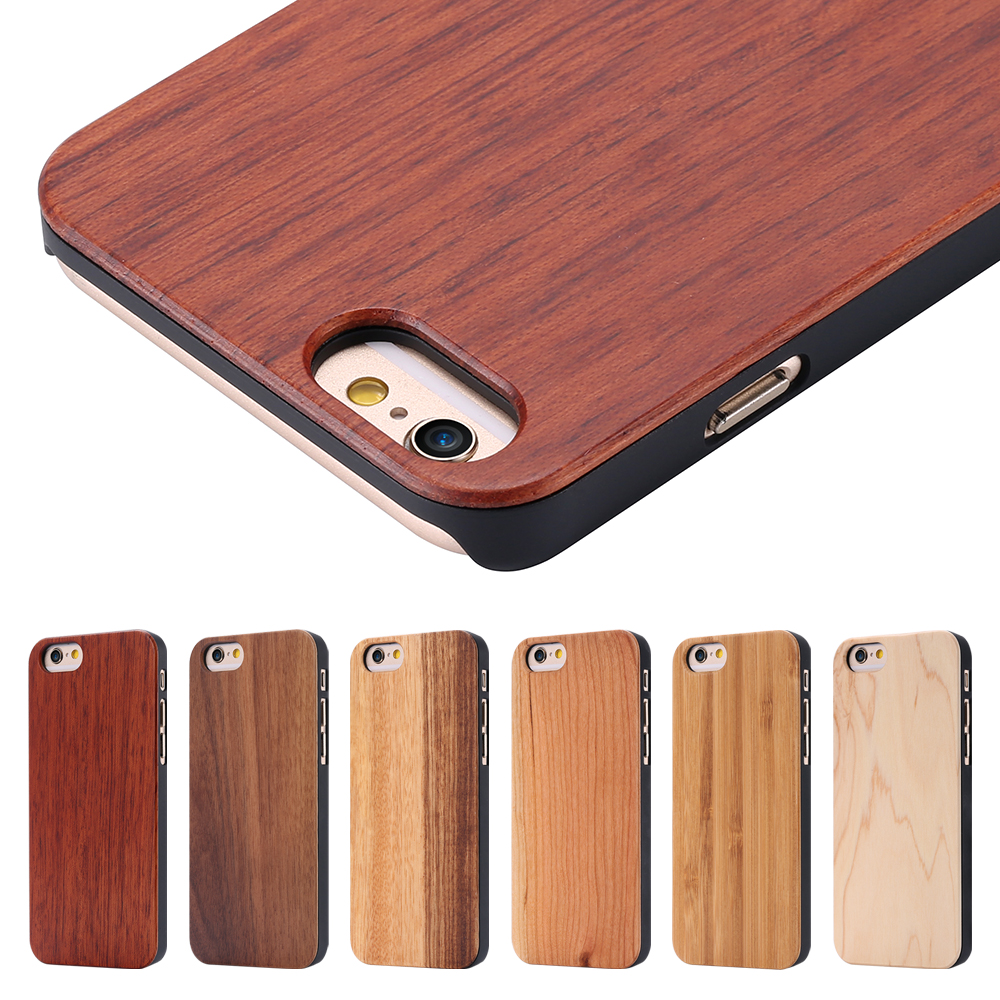 i6 6s wood case natural bamboo maple rosewood wooden mobile phone case for iphone 6 4 7 inch. Black Bedroom Furniture Sets. Home Design Ideas