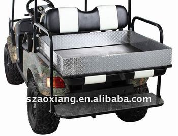 Polished Aluminium Rear Cargo Box,Top Quality Golf Cart Accessories With  Diamond Polishing For Yamaha And Ezgo Golf Cars - Buy Golf Cart Cargo