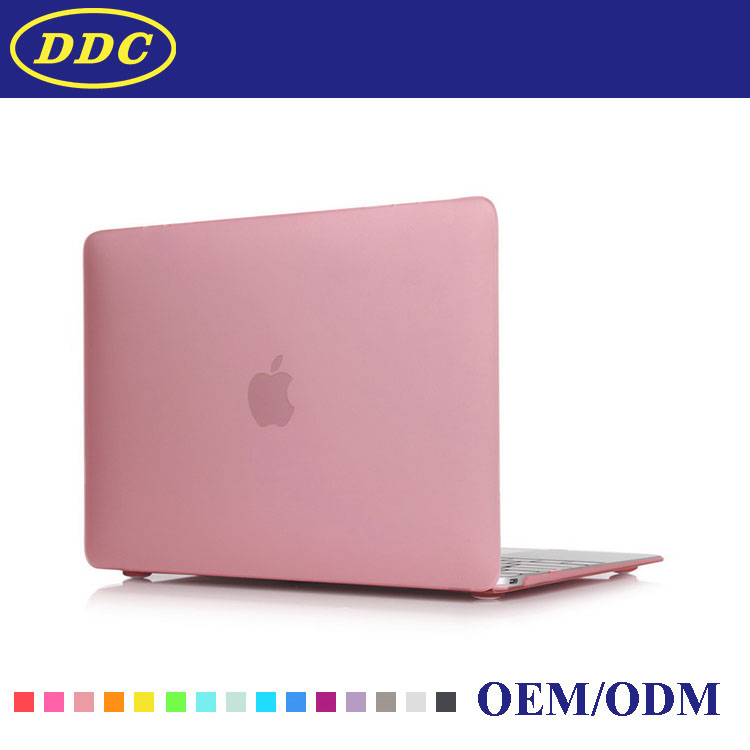 "Made in China shenzhen factory cheap price transparent crystal laptop protect case cover for macbook air 11.6"" 13.3"" Pink"