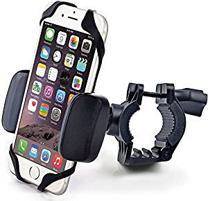 EFORCAR(TM) Motorcycle Bicycle Handlebar Mount Cradle Holder For Cell Phone Adjustable 360 Degree Rotation(Random color)