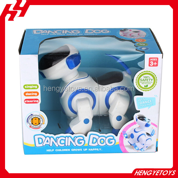 High quality electric robot dog toy dancing dog walking smart dog robot