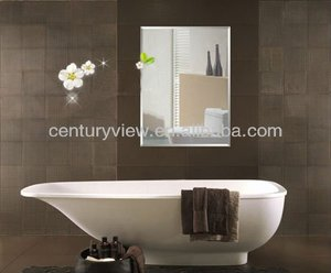Wedding Accessories Bathroom Decorative Wall Mirror Glass Tile