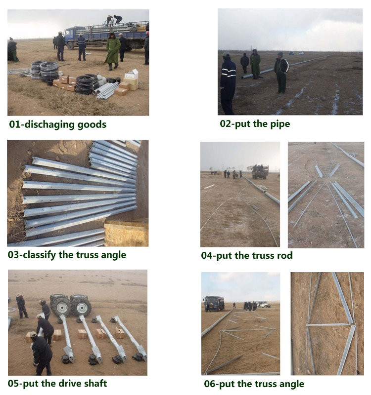 China Yulin Irrigation System Type And New Condition Farm