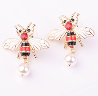 2018 new design bee jewelry ] pretty honey bee jewelry high quality be earring jewelry