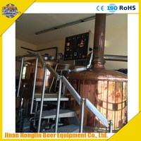 Beer brewing plant, mini brewery equipment