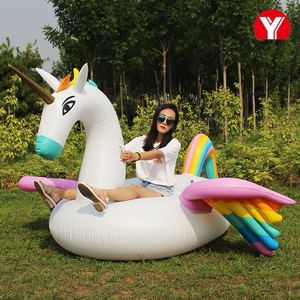 2018 Wholesale inflatable pegasus /Swimming pool floats /Adult inflatable floats