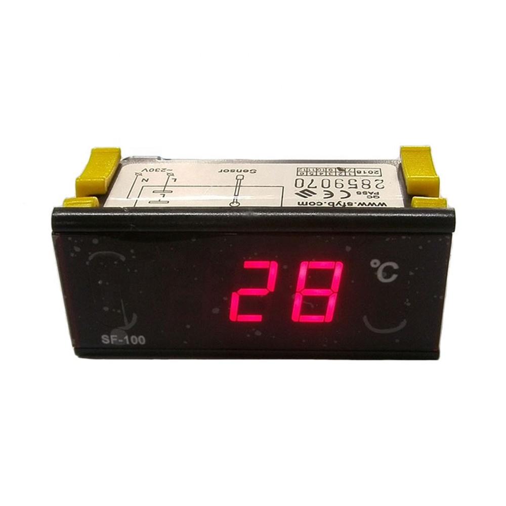 ขายร้อน SF-100P เทอร์โมคอนโทรลเลอร์อุณหภูมิแบบดิจิตอล 220 v