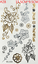 Muitos corpo do flash do tatuagem kits de tatuagem tatuagem temporária não-tóxico de metal frete grátis