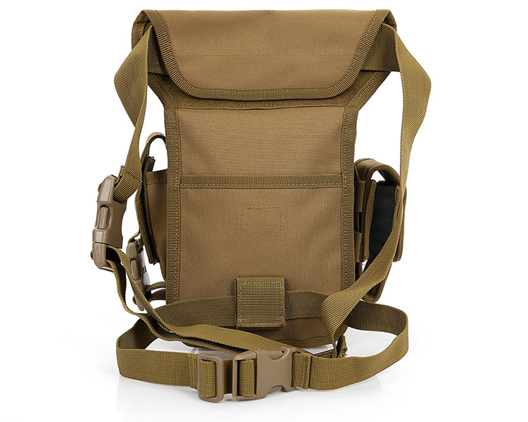 Best selling custom military multifunction sport riding pockets tactical leg bag