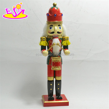 new hottest kids christmas decoration wooden nutcracker toy soldier for sale w02a197