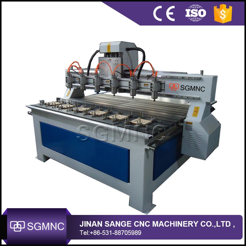 Heavy Duty Router Cnc Woodworking Machine Price Multi Head 4 Axis