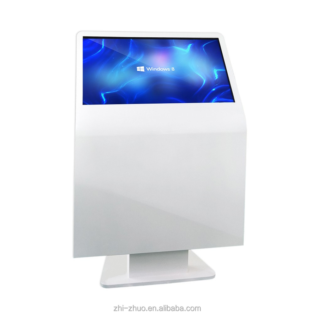 2017 hot new products advertising screen kiosk mall WIFI 3G 4G