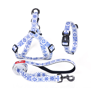 Unique personality pet leash dog collars high quality fancy dog collars