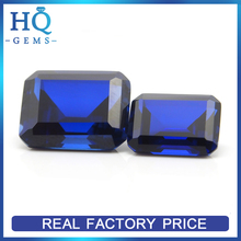 34# blue ruby emerald cut ruby best price carat for fashion jewelry