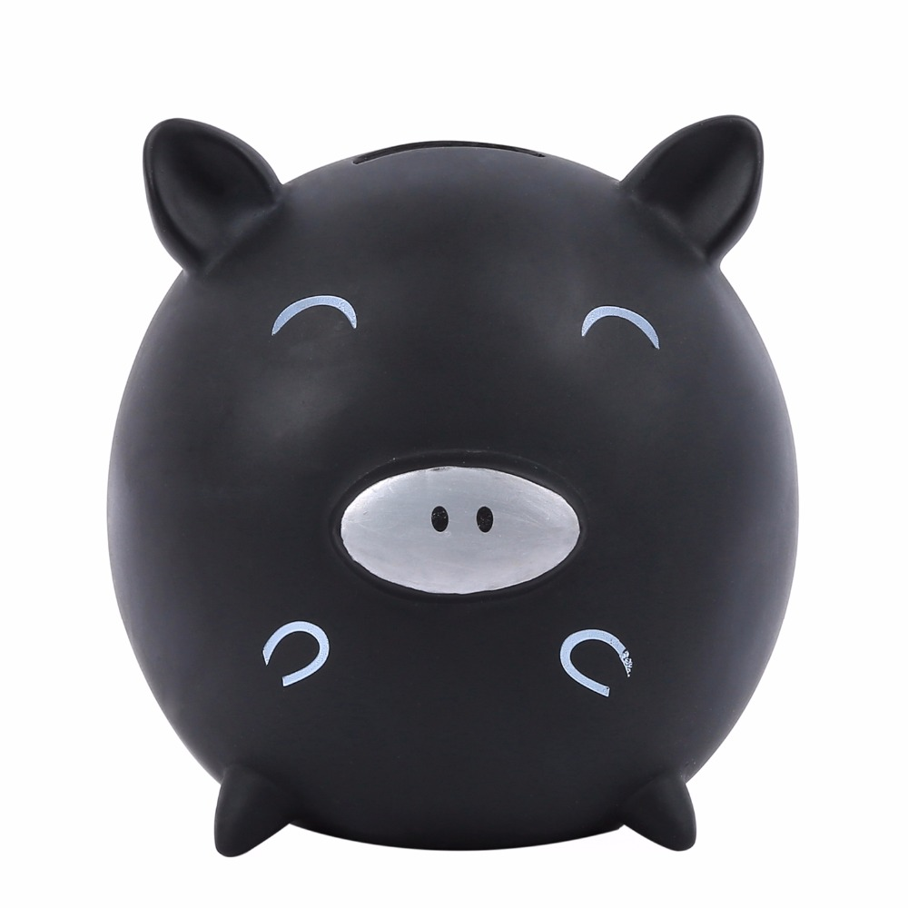 OEM Plastic Cute Piggy Coin Box, Money Saving Bank for Kids