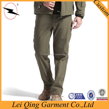 Mens winter thick commando trousers