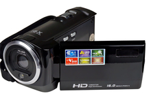 16 Mp Max 720P HD 16X Digital Zoom Digital Video Camera Digital Camcorder with 2.4″ LCD Screen Lithium Battery