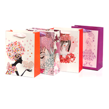 export star decorations valentine goodie clothing lady paper bags shopping for clothing