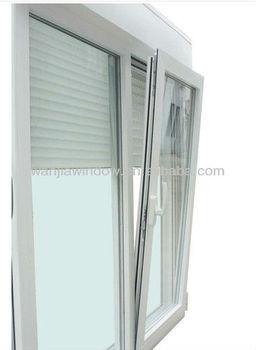 Casement window with blinds cheap pvc casement windows for Best blinds for casement windows