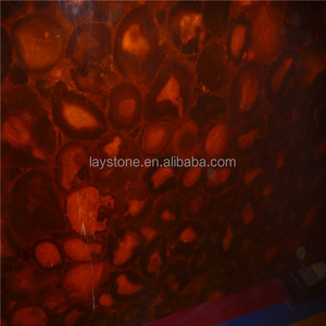Rare natural red jade marble stone