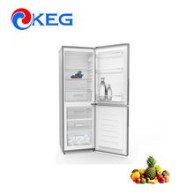 290L Home Kitchen Use Double Door Down Freezer Combi Maunal Defrost National Refrigerator