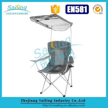 Sailing Leisure Comfy Fold Up Lawn Chairs Canopy Camping