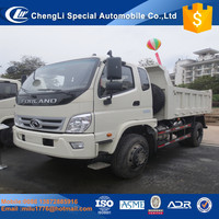 FOTON right hand 2tons dump trucks for sale