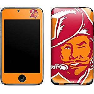 NFL Tampa Bay Buccaneers iPod Touch (2nd & 3rd Gen) Skin - Tampa Bay Buccaneers Retro Logo Vinyl Decal Skin For Your iPod Touch (2nd & 3rd Gen)