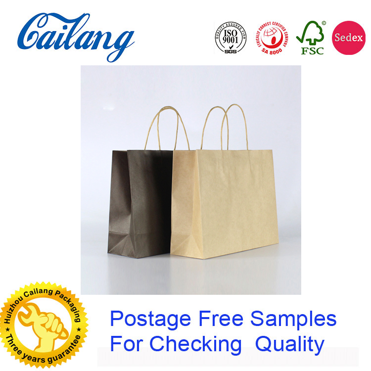 wholesale high-end logo drawstring gift paper bags china supplier