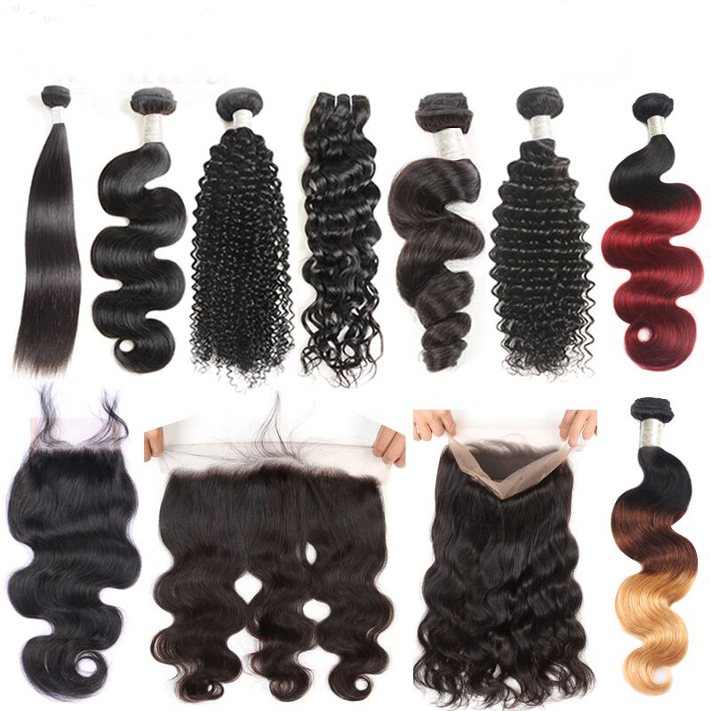 MS Mary Drop Shipping ไม่มี Tangle No Shed Dyeable 7A 8A 9A 10A 100% Virgin Cuticle Aligned Mink บราซิลผม