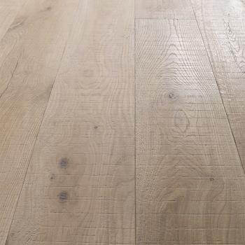 Alibaba Indoor Usage Solid Hardwood White Wash Oak Saw Marks