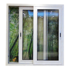 Thermal Break Double Glazing Aluminum Sliding Glass Window