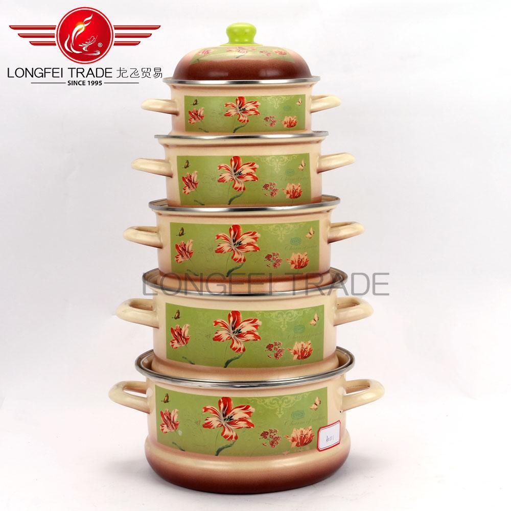 Utensilios de cocina esmalte cocina ware set juego de for Juego de utensilios de cocina precio
